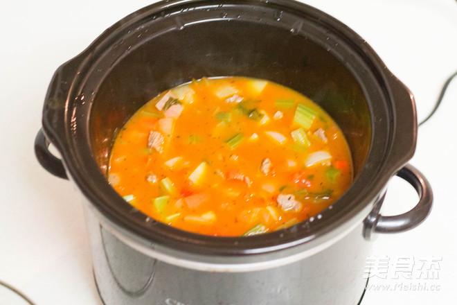 一家团圆,美式罗宋汤怎么吃