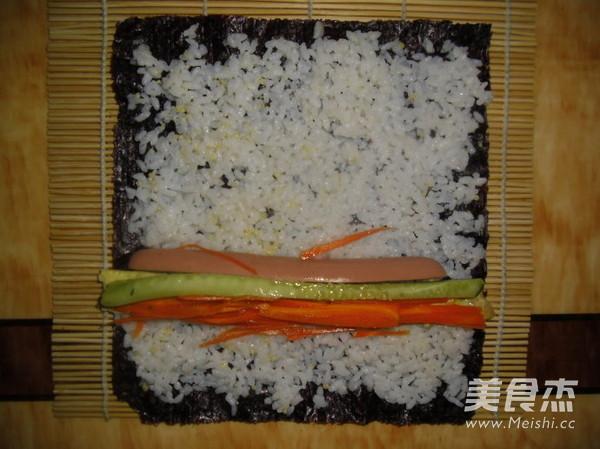 鱼香味寿司怎么做
