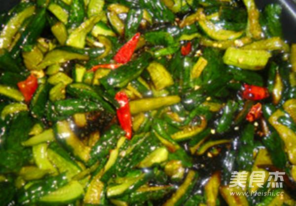 黄瓜咸菜怎么煮