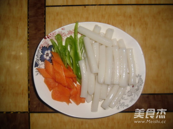 韩式炒年糕的简单做法