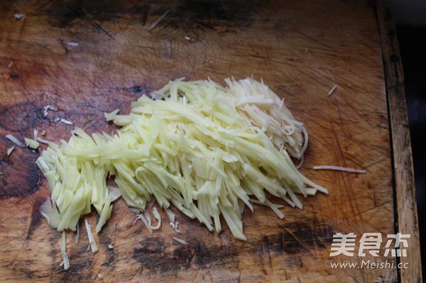 芹菜土豆丝的做法图解