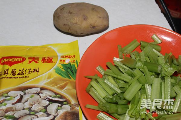 芹菜土豆丝汤的做法大全