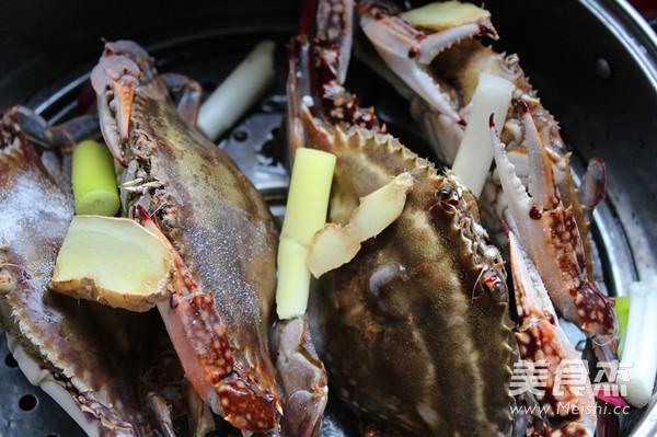 黄酒蒸螃蟹怎么吃