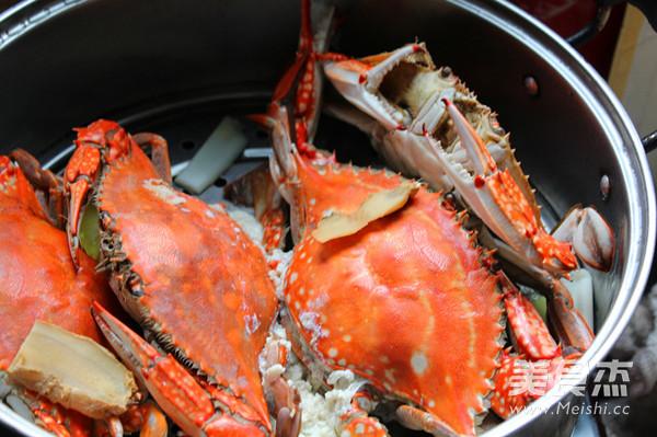 黄酒蒸螃蟹怎么炒