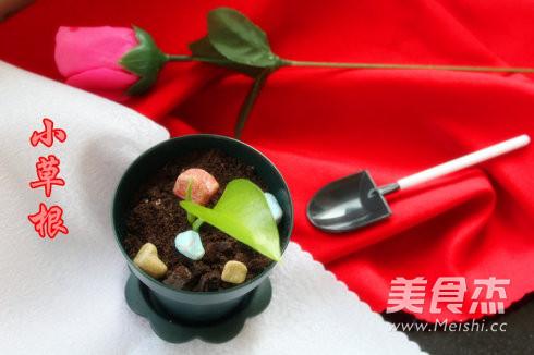 蔓越莓盆栽蛋糕的制作