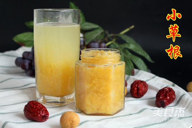 蜂蜜柚子茶成品图