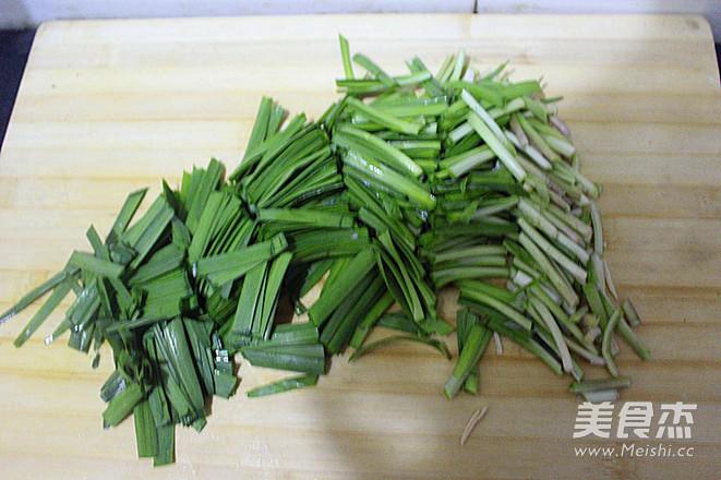 韭菜炒干豆腐的简单做法
