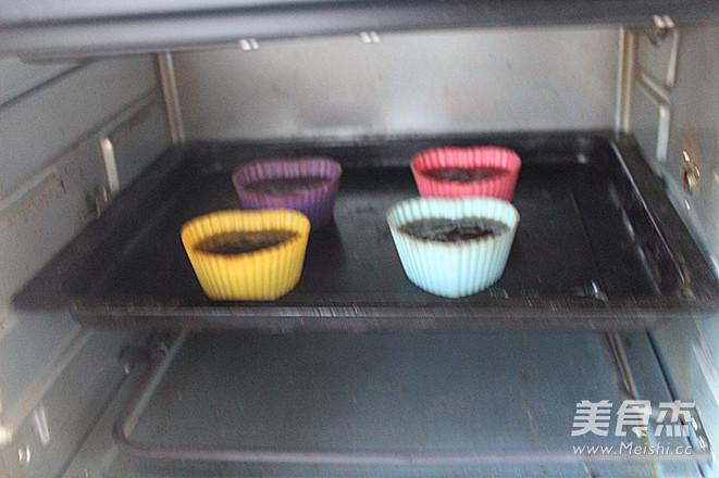 香雪面粉巧克力熔岩蛋糕怎样做