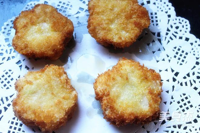 土豆虾泥饼怎样炒