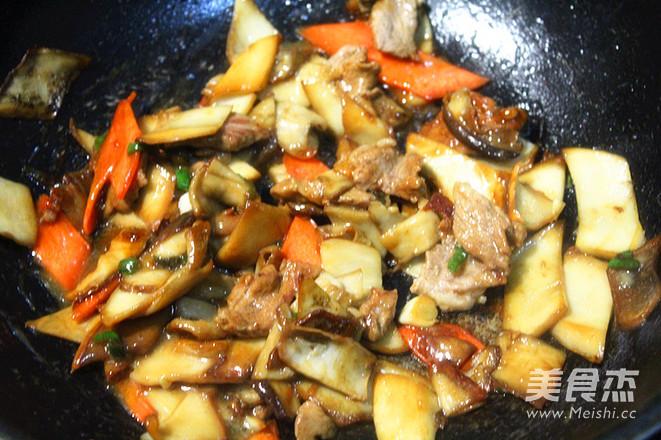 杏鲍菇炒肉怎么煮