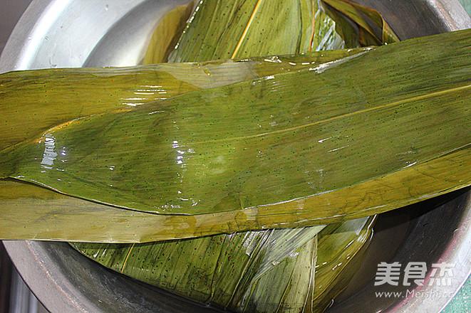 蜜豆蜜枣粽子的简单做法