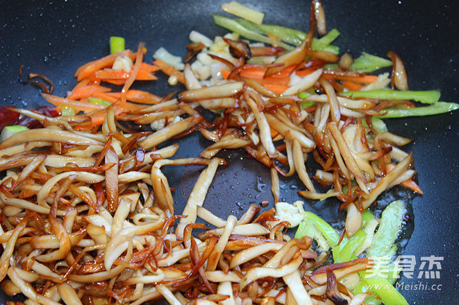干煸杏鲍菇怎么煮