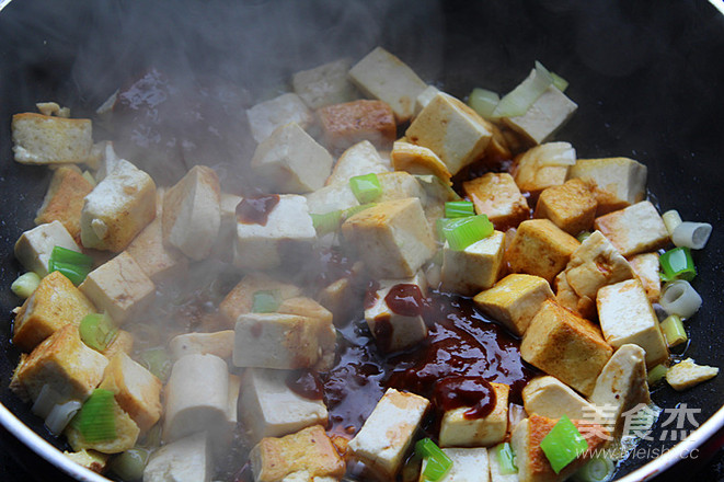 饭店超级下饭大众菜熘酱豆腐怎么做