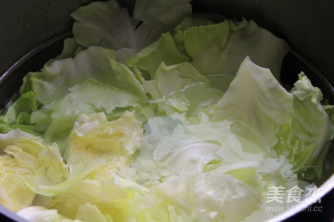 圆白菜猪肉包子的做法图解