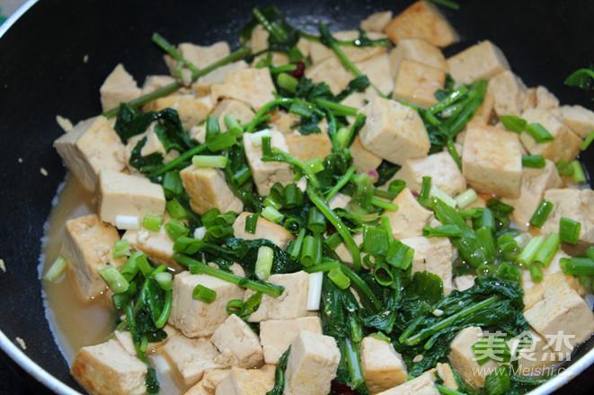 萝卜缨炖豆腐怎么煮
