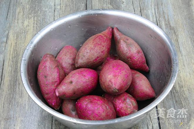 紫薯早餐营养粥的做法大全