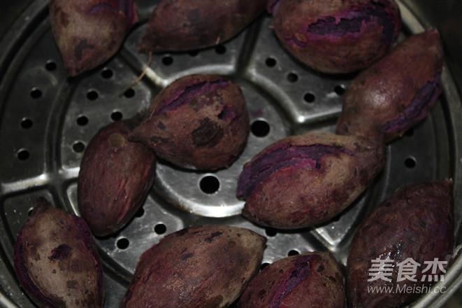 紫薯早餐营养粥的做法图解