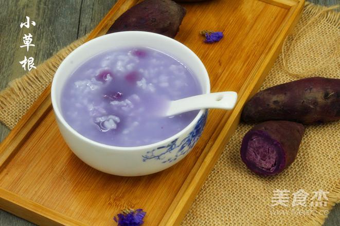 紫薯早餐营养粥怎么炖
