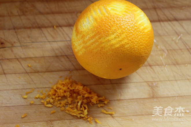 网红盒子橙香奶油蛋糕的家常做法