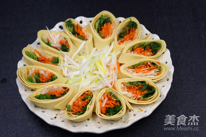 饭店最受欢迎的一道菜——京酱肉丝怎么吃