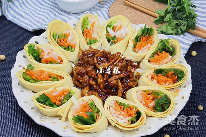 饭店最受欢迎的一道菜——京酱肉丝怎样做