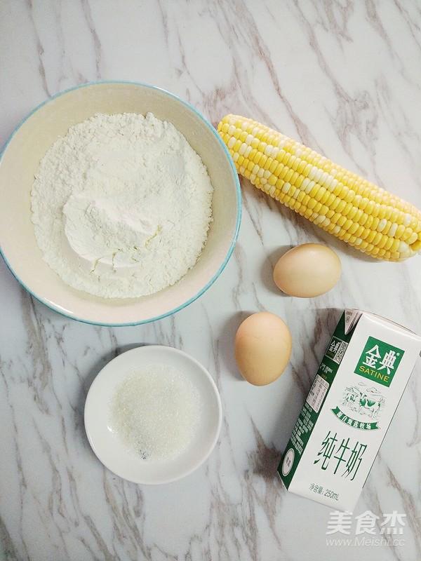 牛奶玉米汁鸡蛋饼的做法大全