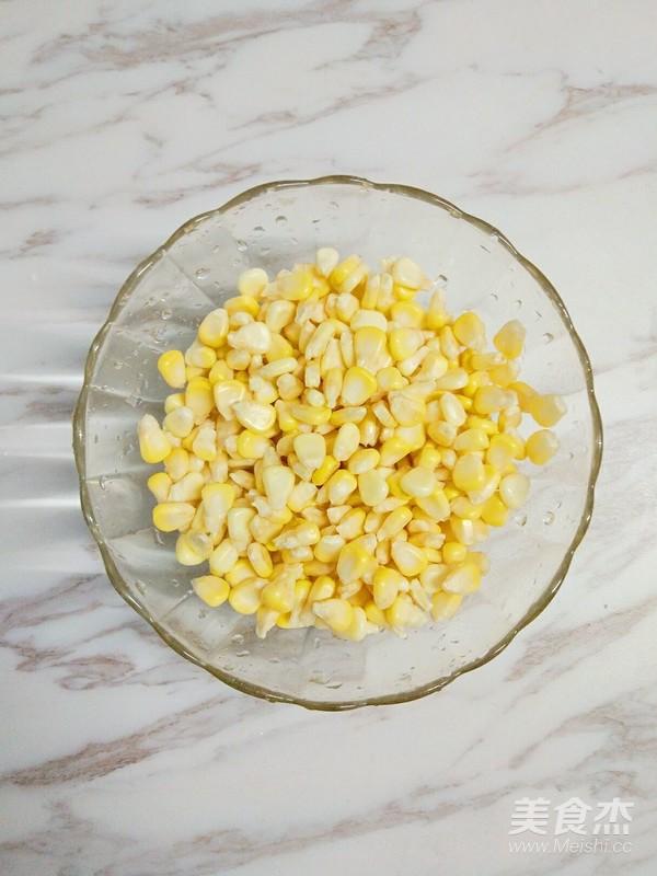 牛奶玉米汁鸡蛋饼的做法图解