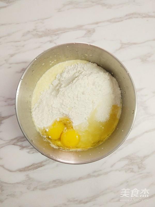 牛奶玉米汁鸡蛋饼怎么炒