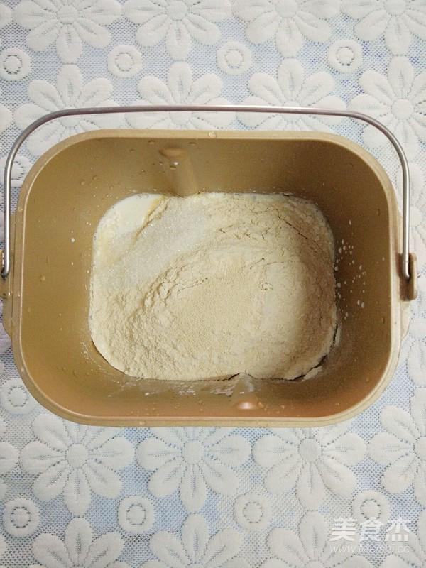 营养又好吃的一次发酵牛奶全麦馒头的做法图解