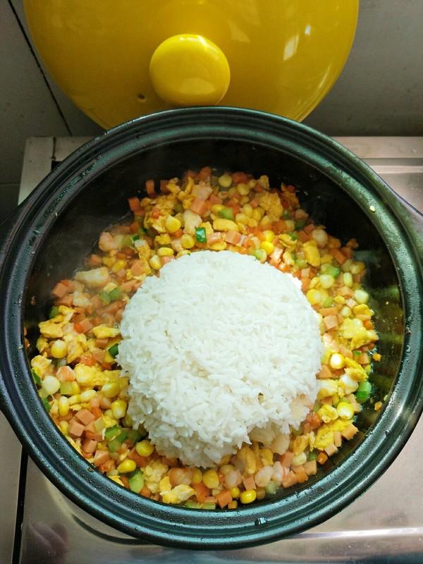 砂锅扬州炒饭怎样煮