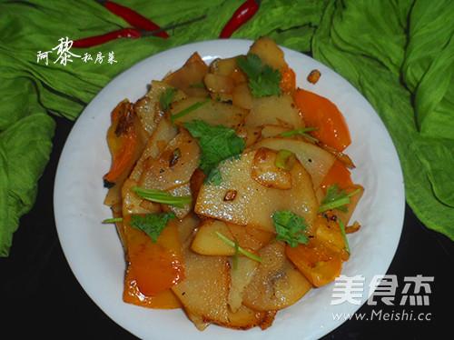 尖椒土豆片的简单做法