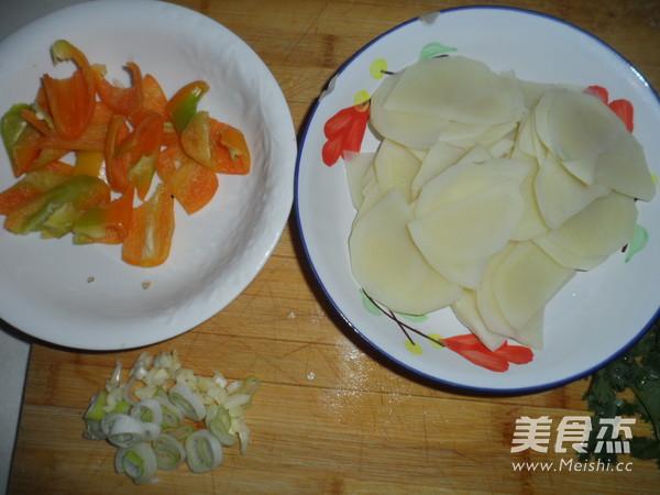 尖椒土豆片的做法大全