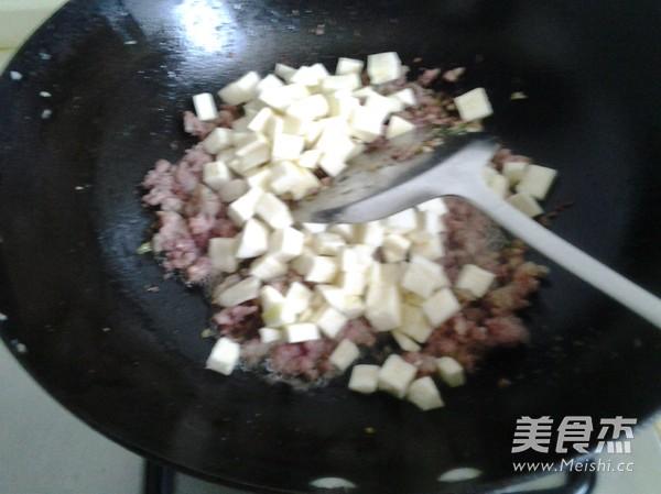 肉末茭白小虾酱面怎么吃