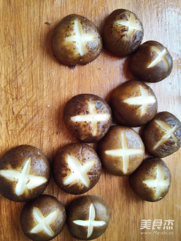菜笕香菇的做法图解