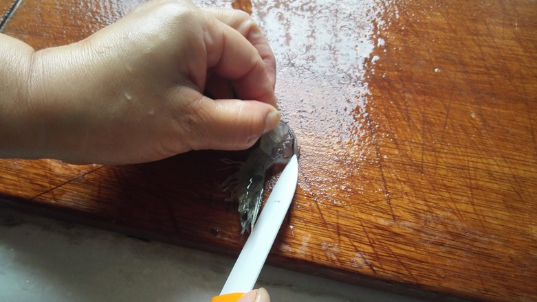 鲜虾粉丝煲的做法图解