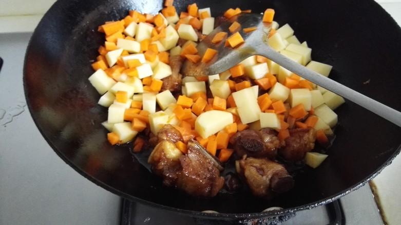排骨土豆饭怎么吃