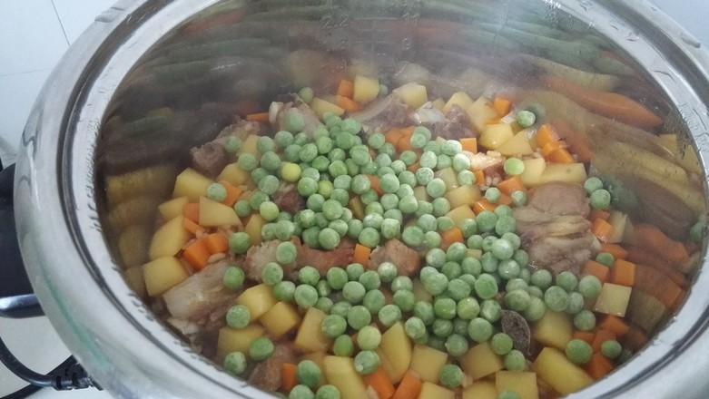 排骨土豆饭怎么煮