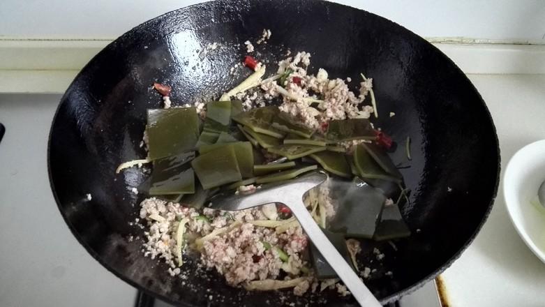 肉末海带烧冬瓜怎么做