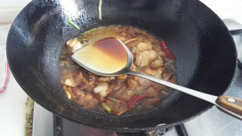 五花肉烧腐竹的简单做法