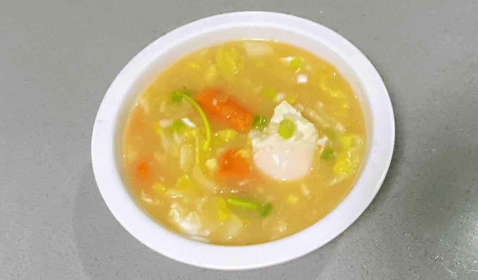 【孕妇食谱】红薯疙瘩汤,营养美味易消化,连吃三天不会腻!成品图
