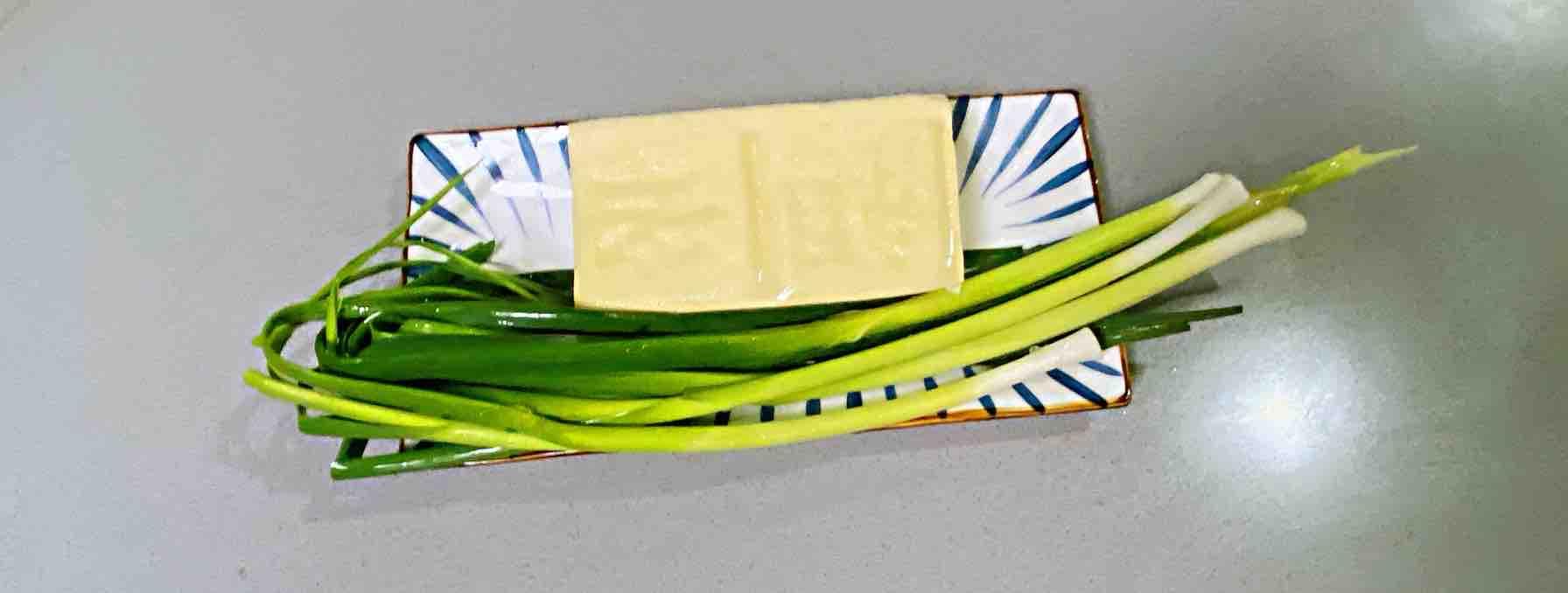 【孕妇食谱】鲍汁豆腐烧青蒜,鲜味浓郁,超级下饭~的做法大全