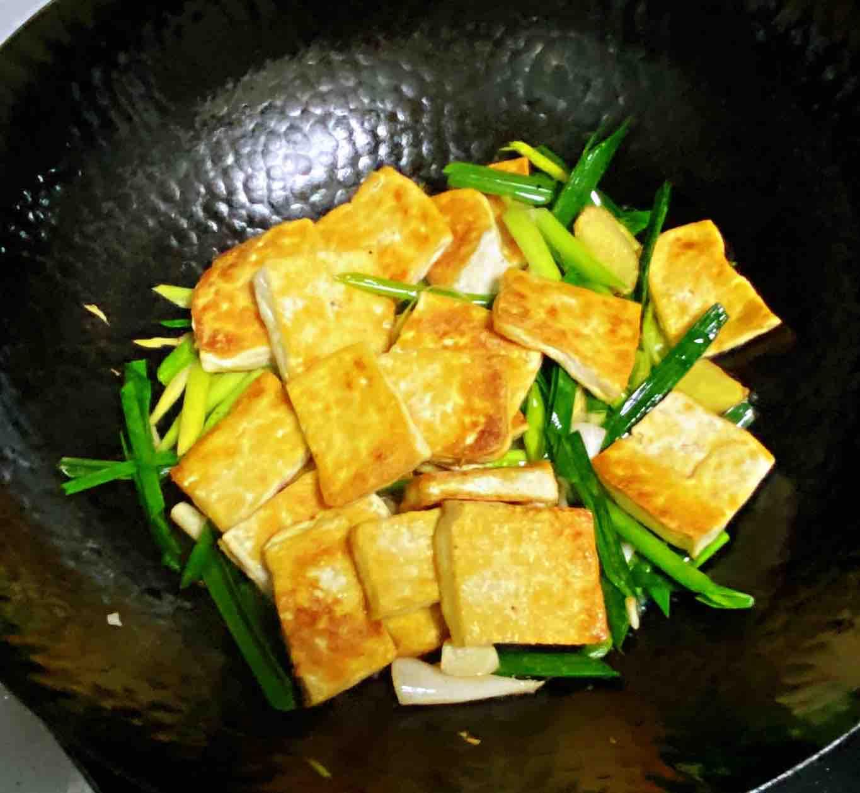 【孕妇食谱】鲍汁豆腐烧青蒜,鲜味浓郁,超级下饭~怎么煮