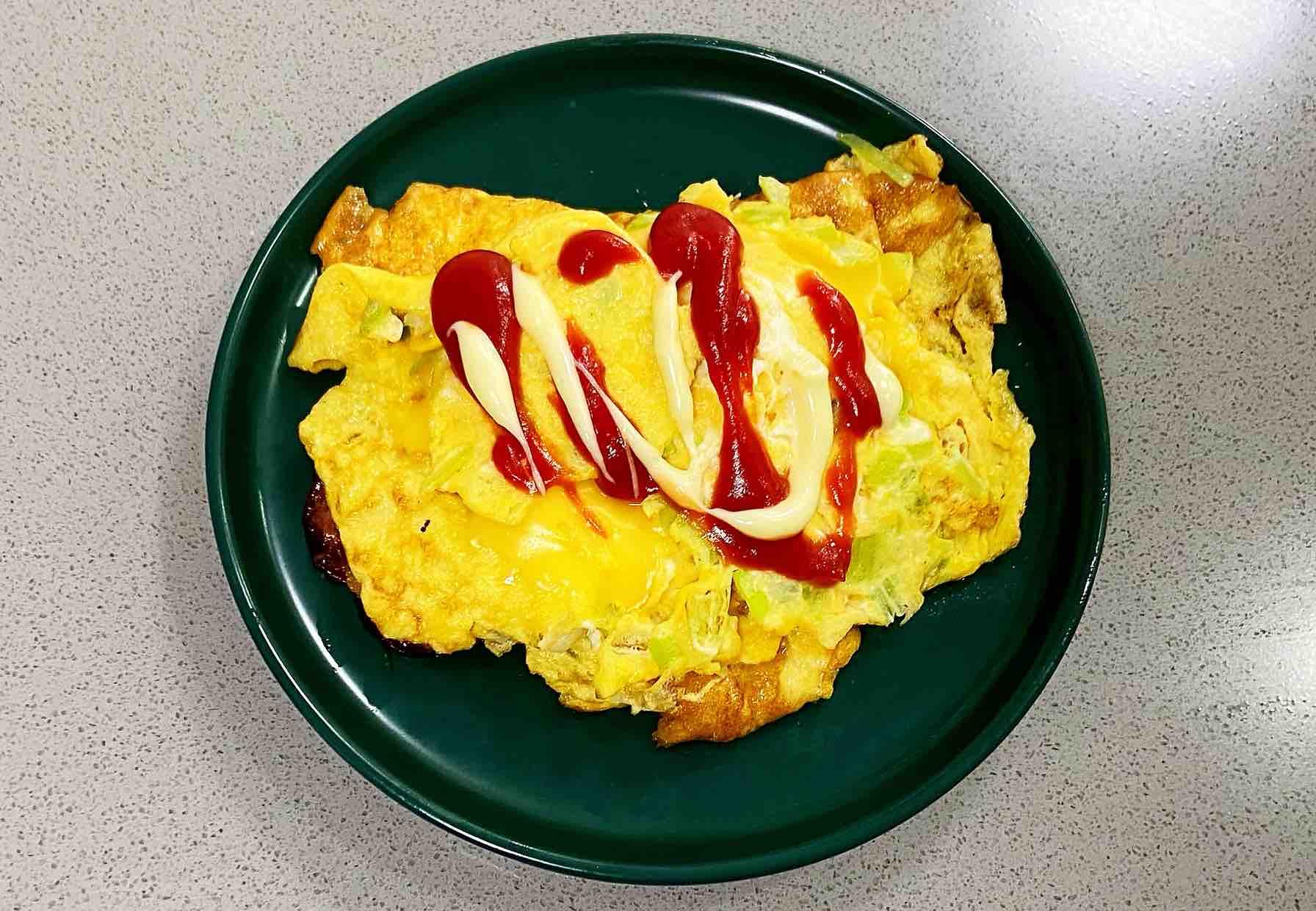 【孕妇食谱】火腿芝士蛋卷,色泽金黄,营养丰富~的步骤