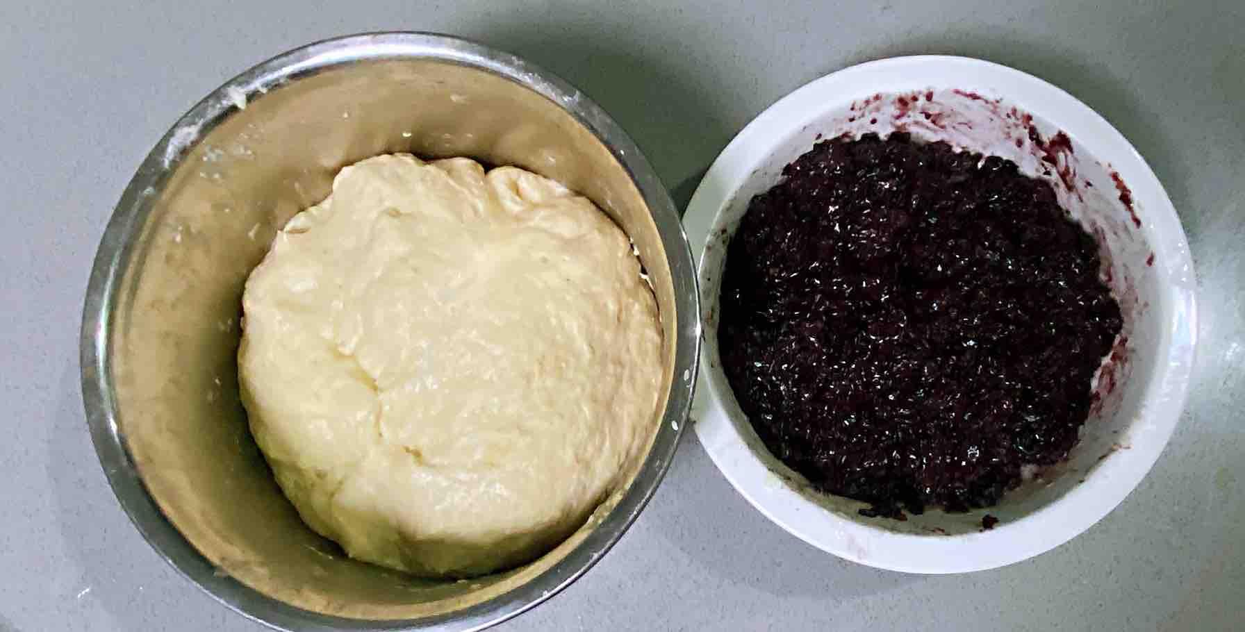 【孕妇食谱】紫米糯米饼,香甜可口,又糯又劲道~的步骤