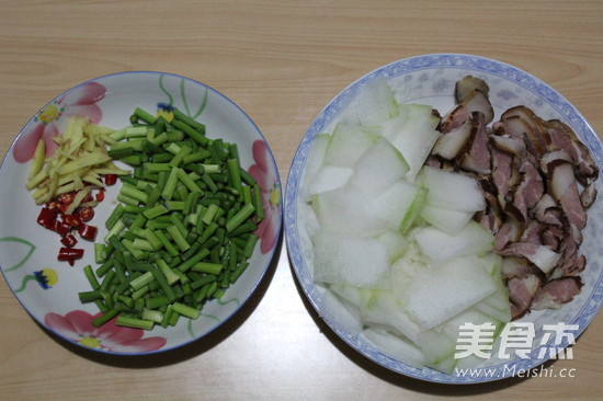 腊肉炒冬瓜的做法大全