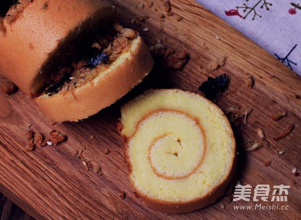 肉松海苔蛋糕卷怎样煮