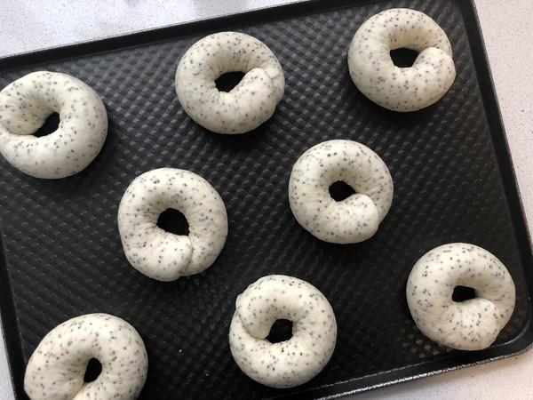 不用出膜却敲好吃的奇亚籽贝果面包的制作大全