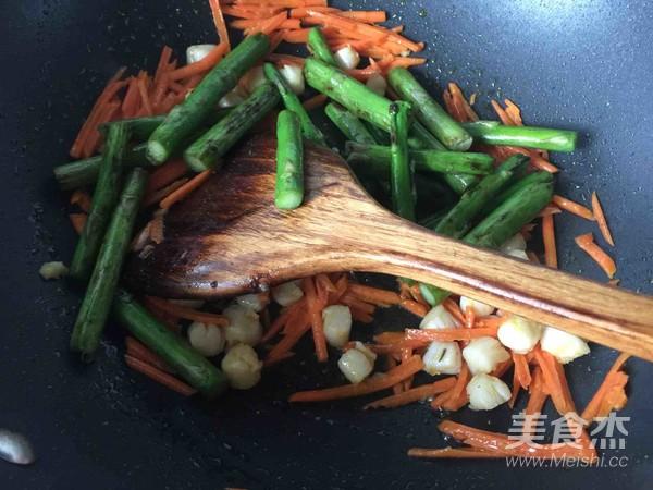芦笋炒鲜贝肉怎么吃