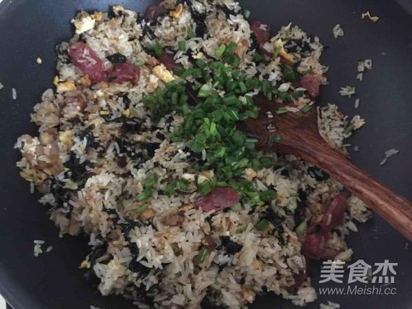 紫菜炒饭怎么煸