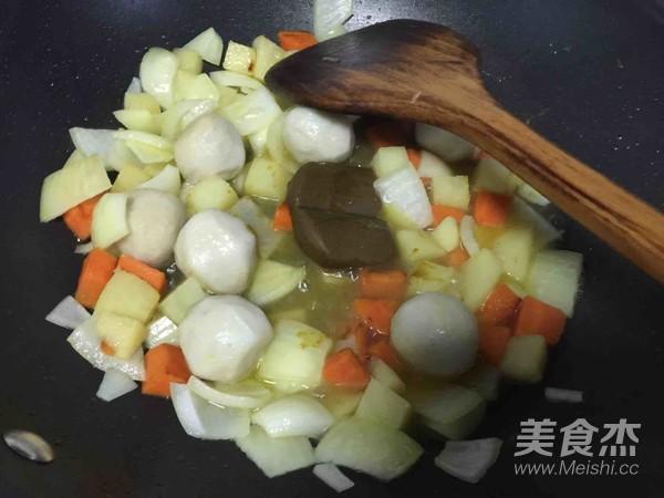 咖喱鱼蛋饭怎么炒